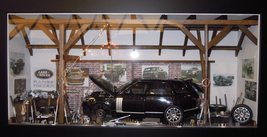 Car Display Box – Range Rover