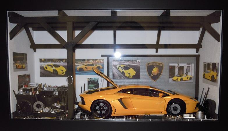 Car Display Box – Lamborghini Aventador
