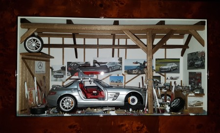Car Display Box – Mercedes SLS