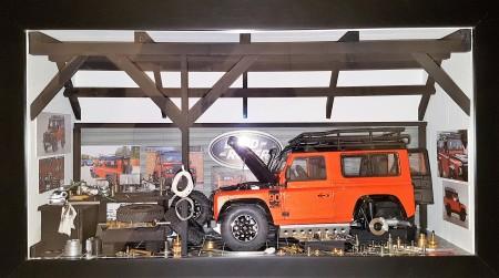 Car Display Box – Land Rover D90