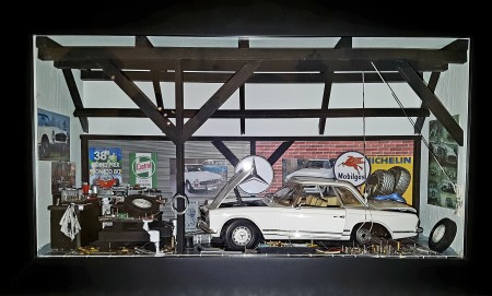 Car Display Box – Mercedes 280 SL