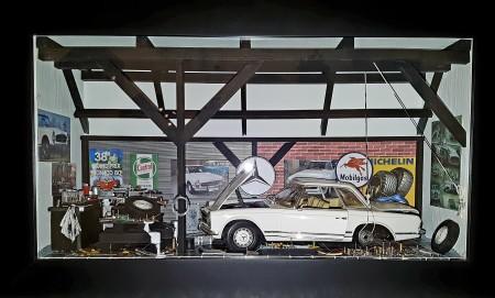 Car Display Box – Mercedes 280 SL