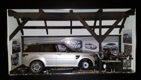 Car Display Box – Range Rover Sport