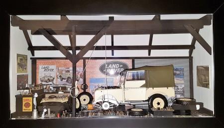 Car Display Box – Land Rover Series 1