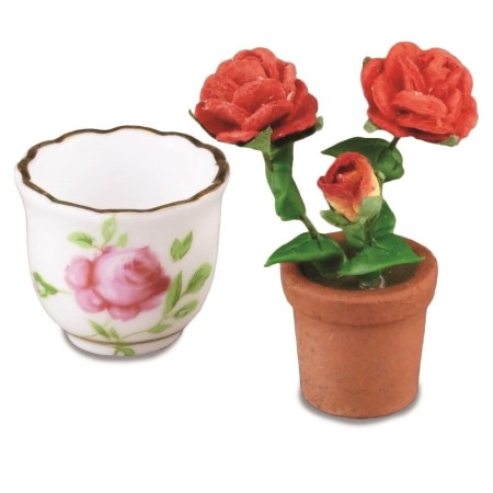 796_5 Pot with Rosebush