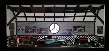 Car Display Box – Mercedes F1 W07