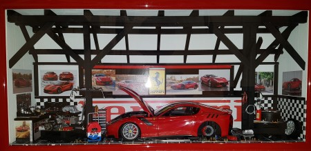 Car Display Box – Ferrari F12 TDF