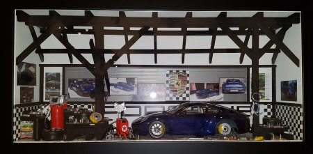Car Display Box – Porsche 911 (992) Carrera