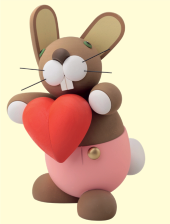 Bunny With Heart – Large