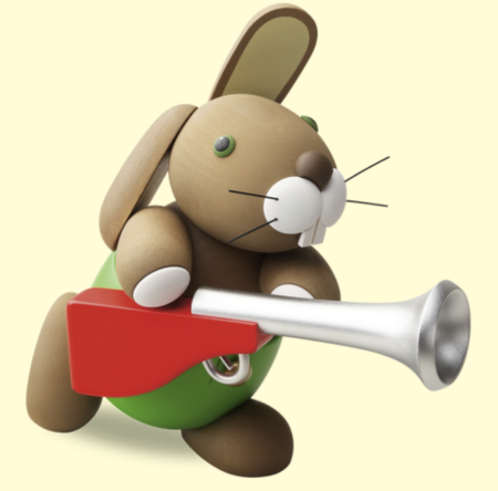 Bunny With Gun – Large