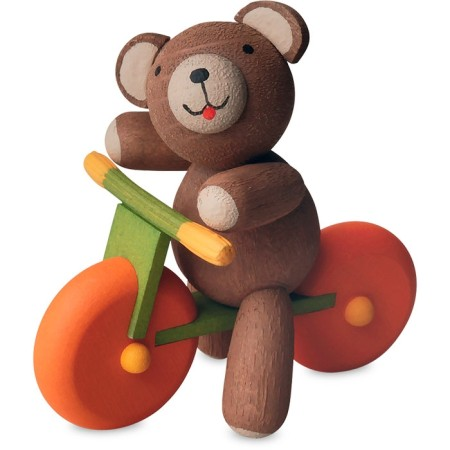 Teddy Bear On Balance Bicycle