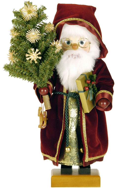Nutcracker – Red Victorian Santa