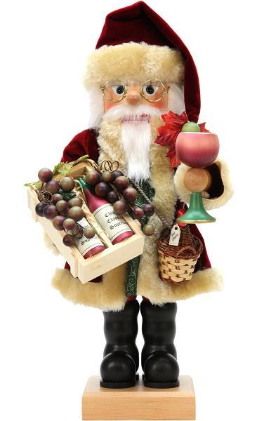 Nutcracker – Wine Aficionado Santa