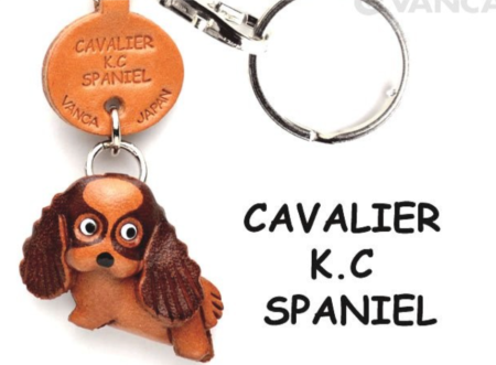 Leather Key Chain – Cavalier K.C. Spaniel