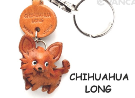 Leather Key Chain – Chihuahua Long