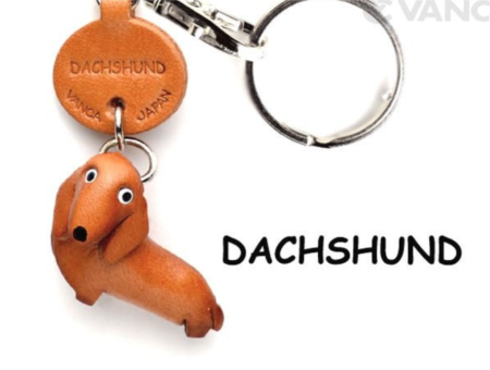 Leather Key Chain – Dachshund