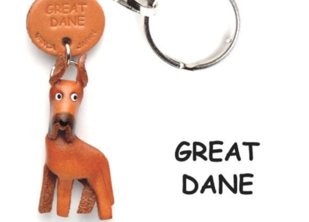 Leather Key Chain – Great Dane