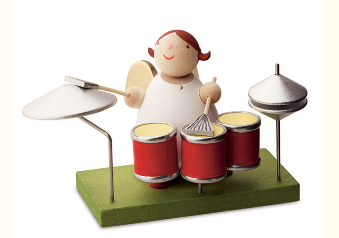 Angel With Drum Kit