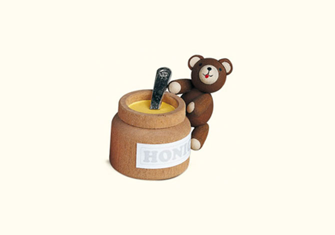 Teddy With Honey Pot