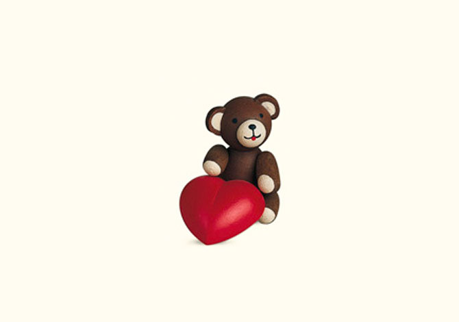 Teddy With Heart