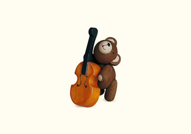 Teddy With Cello