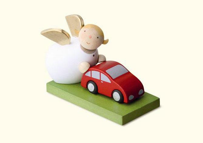 Angel With Car