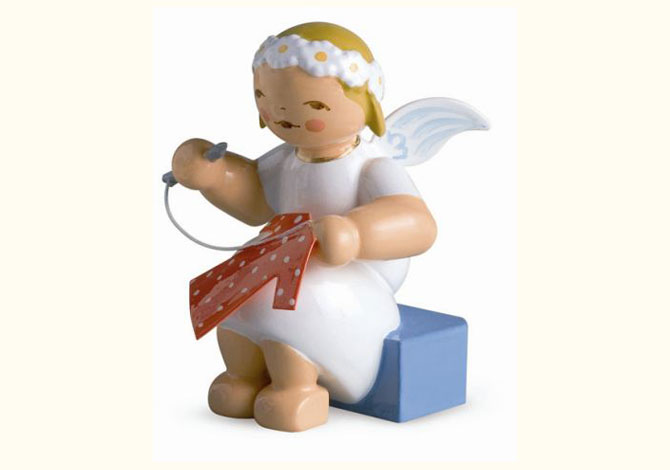 Marguerite Angel With Needle