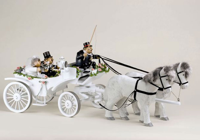 Wedding Horse Carriage