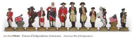 Chess Pieces – American Revolution