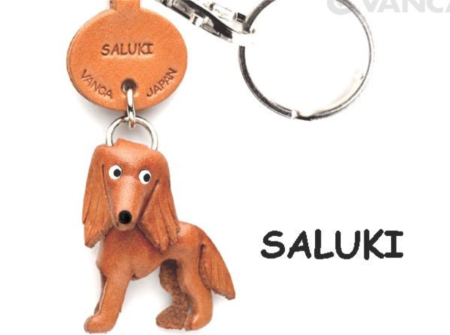 Leather Key Chain – Saluki