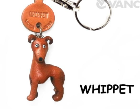 Leather Key Chain – Whippet