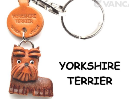 Leather Key Chain – Yorkshire Terrier