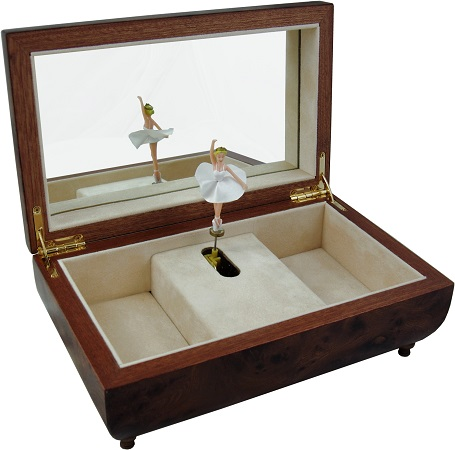 Jewellery Music Box – Ballerina (Large)