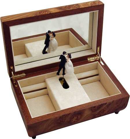Jewellery Music Box – Dancing Couple