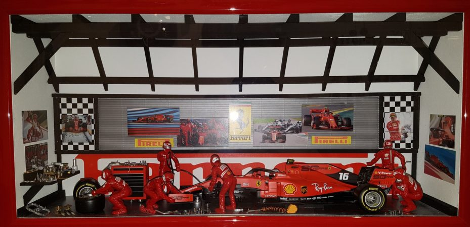 Car Display Box – Ferrari F1 SF90