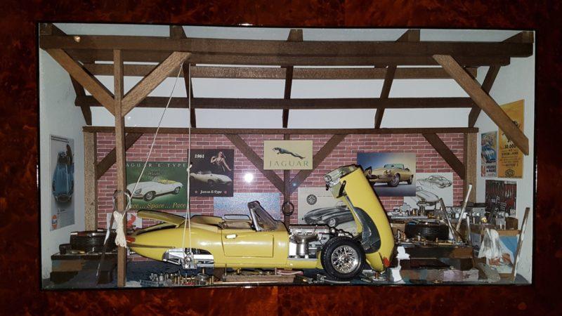 Car Display Box – Jaguar E-type