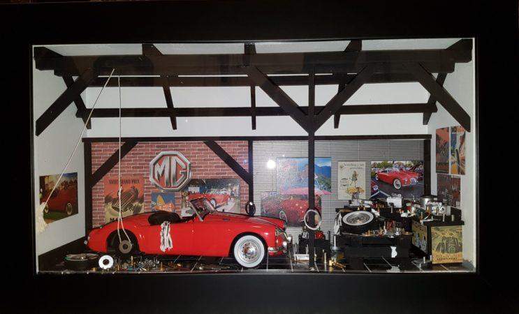 Car Display Box – MG A