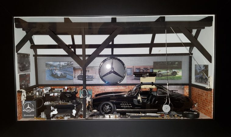 Car Display Box – Mercedes 300 SL