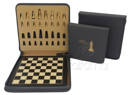 Magnetic Chess Set With Carrying Case