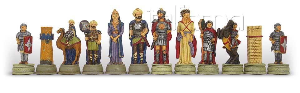 Chess Pieces – Roman Vs Arabs