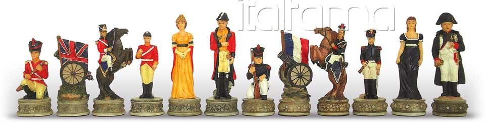Chess Pieces – Battle Of Waterloo